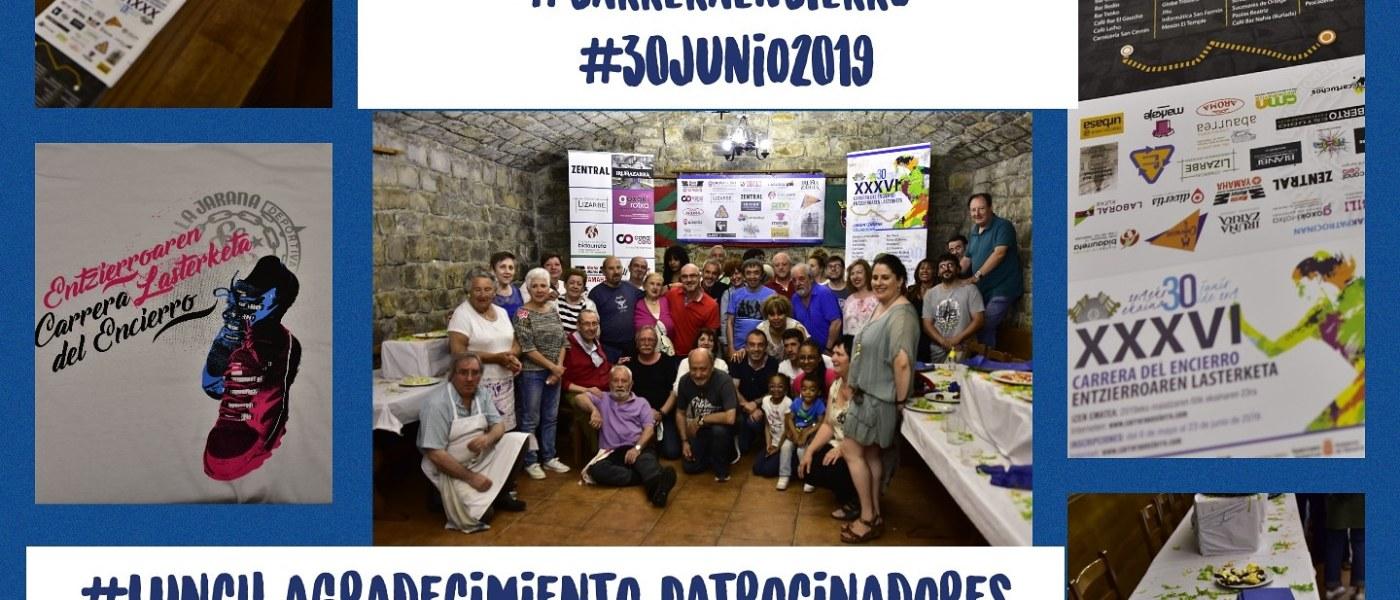Lunch Patrocinadores 2019